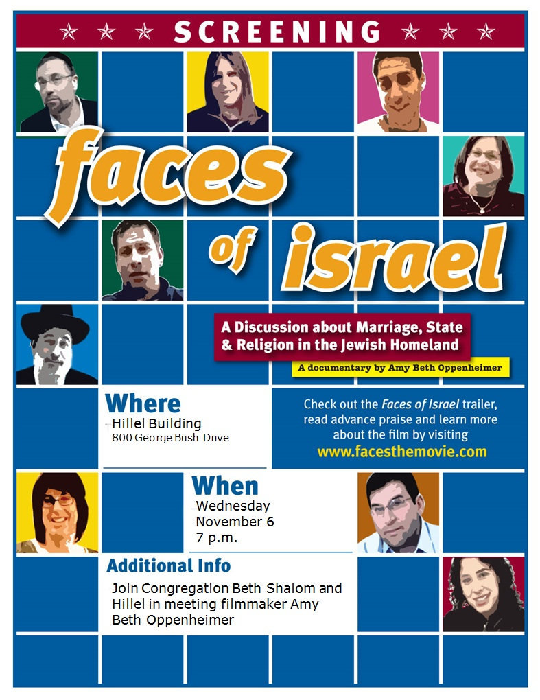 Faces of Israel Movie
