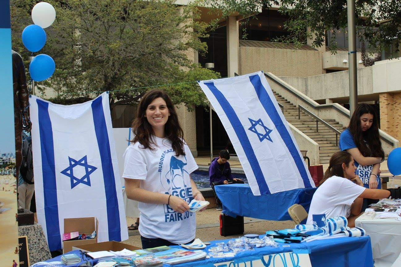 Aggie Israel Fair a Success
