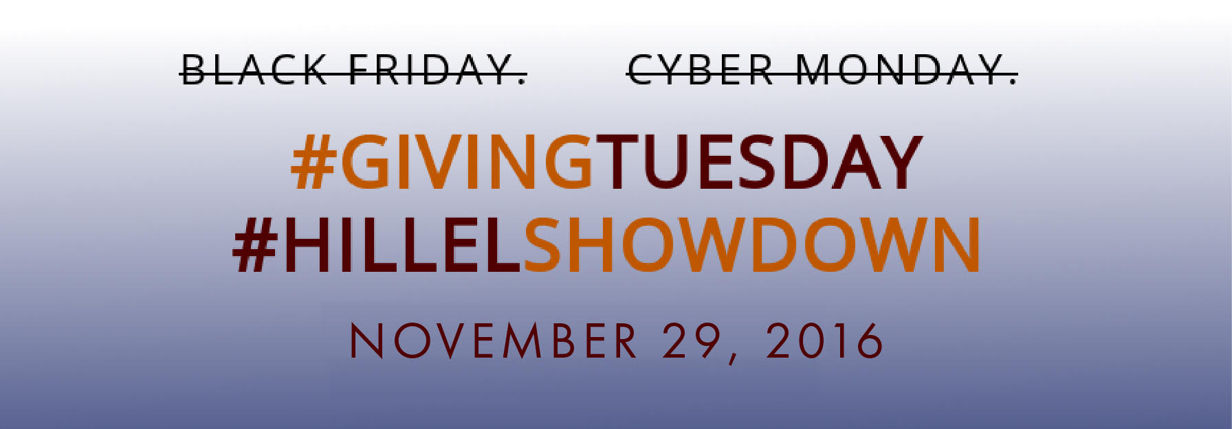 Giving Tuesday on November 29th