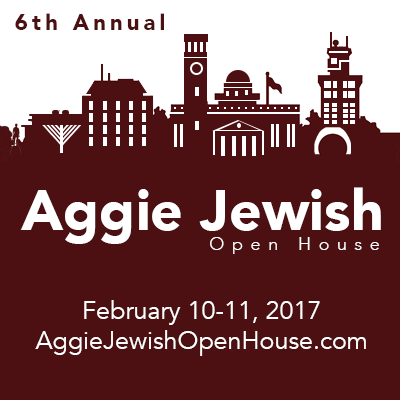 Aggie Jewish Open House Registration Now Open