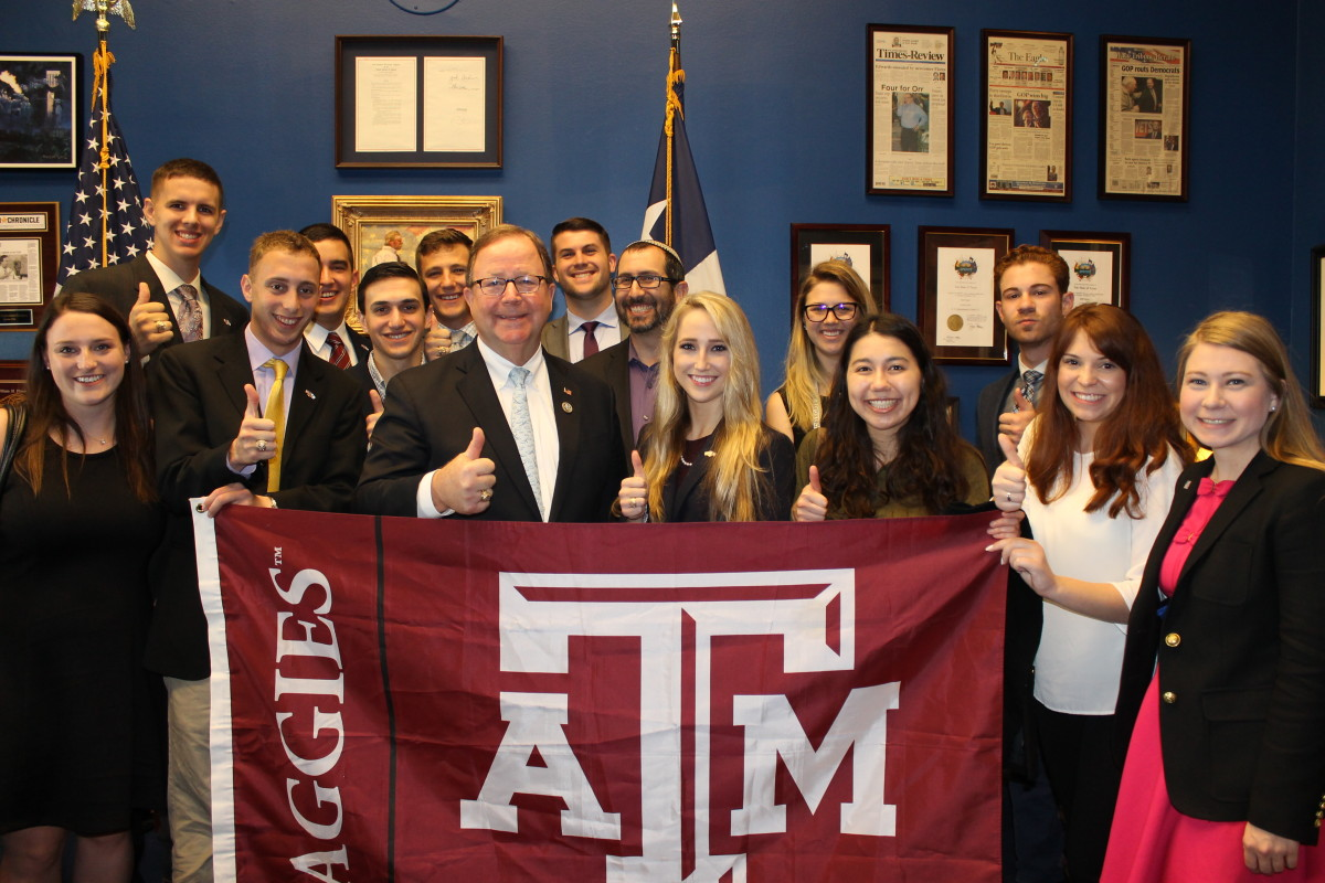 Largest A&M Delegation Attends AIPAC Policy Conference