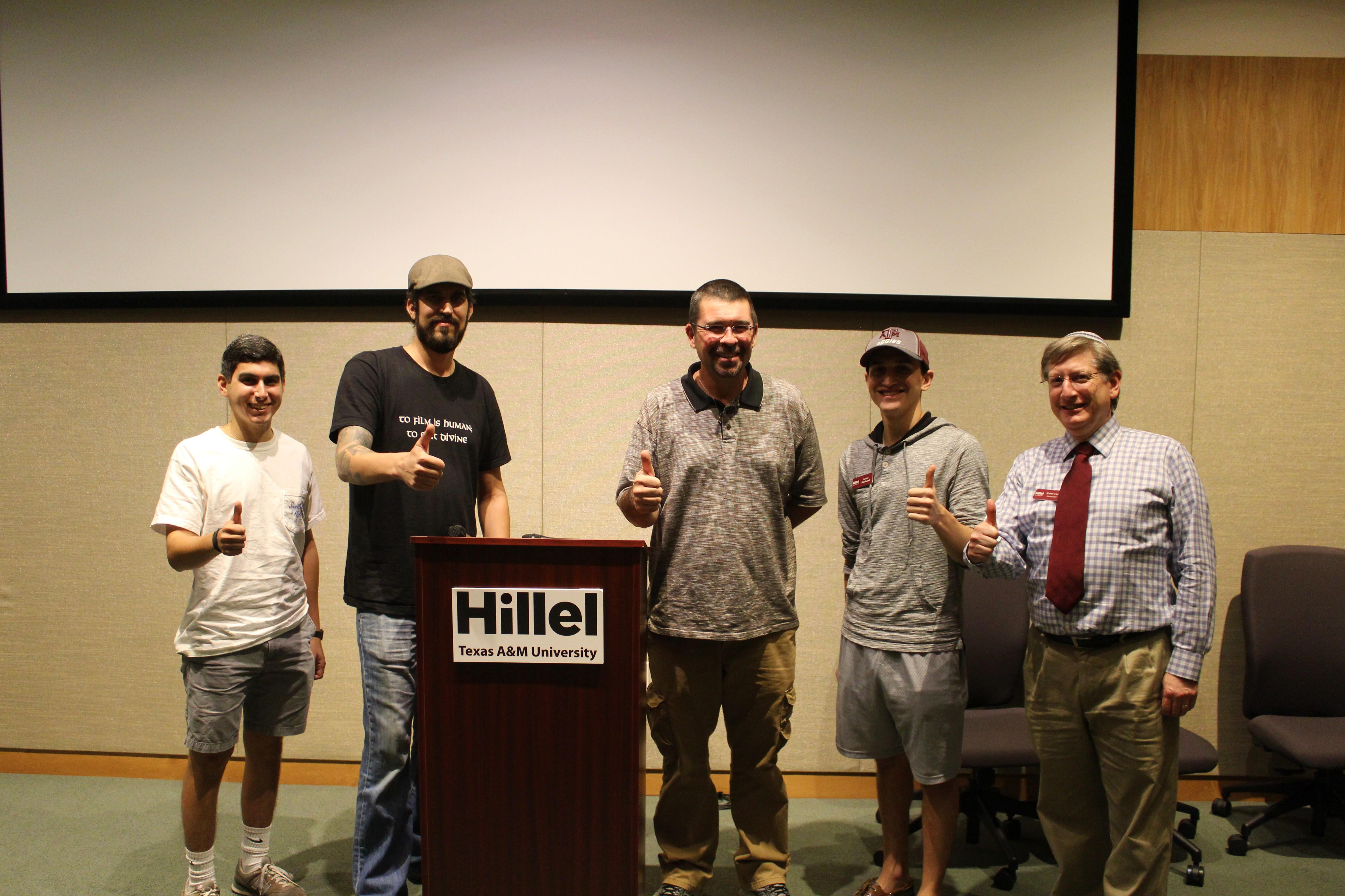 Jewish Ex-Neo-Nazi Visits Hillel on Nov. 16th
