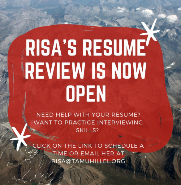 Resume Review for Current Students