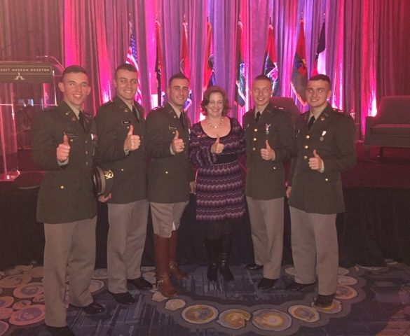 Texas A&M Cadets and Aggie Liberators of WWII Honored at 2018 Guardian of the Human Spirit Luncheon