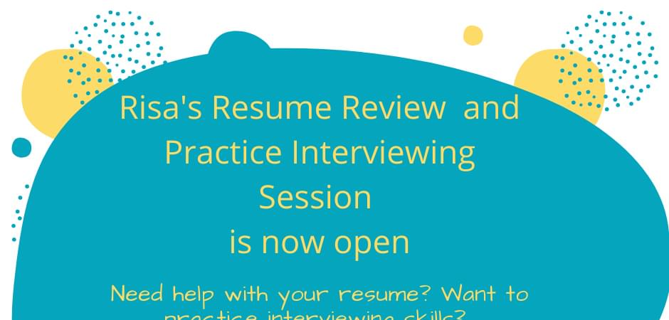 Resume Review with Risa