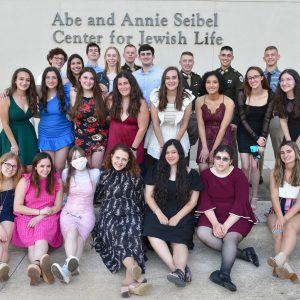 Group of Hillel students